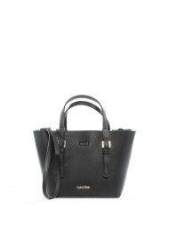 / Solid tote bag small black
