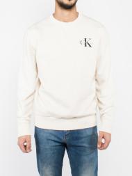 TOMMY HILFIGER / Ti crew sweatshirt cream
