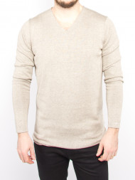 SELECTED HOMME / Plated pullover brown