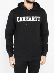 tigha / College hoodie black