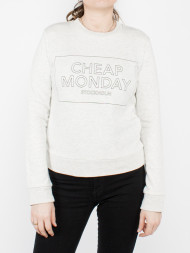 CHEAP MONDAY / Win sweatshirt grey