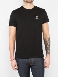 WOOD WOOD / Standard edge t-shirt black