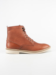 FRANK WRIGHT / Munros leather boots chestnut