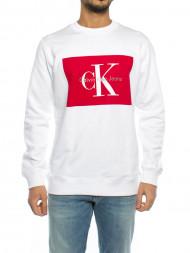 CALVIN KLEIN / Hotoro sweatshirt white