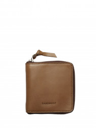 Nudie Jeans co / Aina leather wallet cognac brown
