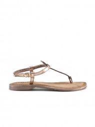 American Vintage / Leather sandals copper