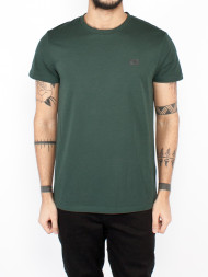 SAMSØE & SAMSØE / Max logo t-shirt darkest spruce