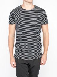 SAMSØE & SAMSØE / Abel t-shirt dark sapphire striped