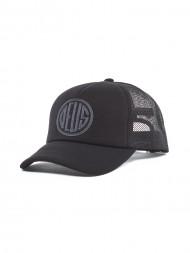/ Pill trucker cap black