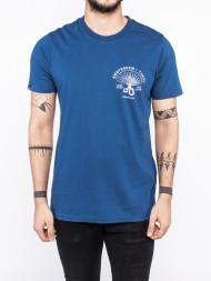 DENHAM / Fan of japan t-shirt navy