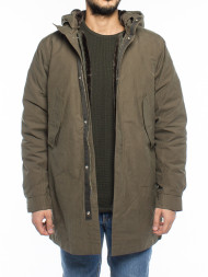 CANADIAN CLASSICS / Stanley parka black olive
