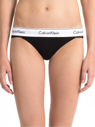 CALVIN KLEIN / Unlined thong lace black