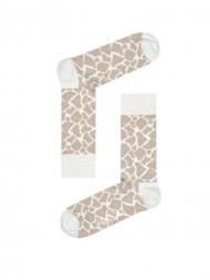 HappySocks / Giraffe socks creme