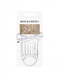 ROCKAMORA / Fino shoe flaps gold glitter