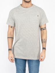 Reell / Pocket t-shirt grey striped