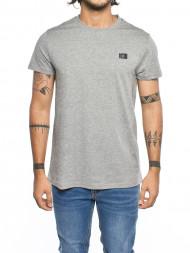 SAMSØE & SAMSØE / Max logo t-shirt grey