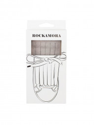 ROCKAMORA / Fino shoe flaps grey suede