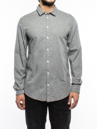/ Marley shirt sky grey mel