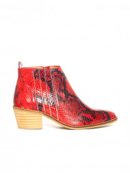 i love candies / Python boots red