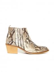 / Python boots beige