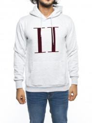 LES DEUX  / Carterton hoodie snow mel