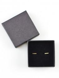 JUKSEREI / Linie earrings gold