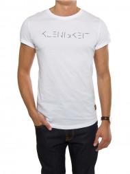 NN07 / Strichleindeckdich t-shirt white