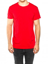 EDWIN / Lassen t-shirt racing red
