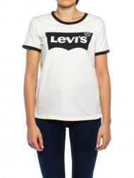 Levi's / Vintage logo t-shirt white black