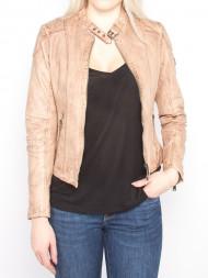 SAMSØE & SAMSØE / Letty leather jacket beige