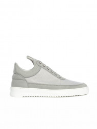 FILLING PIECES / Low top ripple mesh cement grey