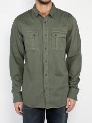SELECTED HOMME / Gunar patches shirt lummer