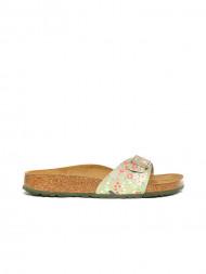 BIRKENSTOCK / Madrid sandals meadow flowers khaki