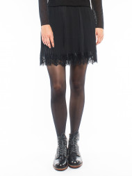 ROCKAMORA / Rossa amuse skirt black