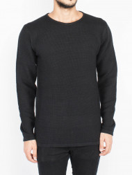 SELECTED HOMME / Reiswood pullover black