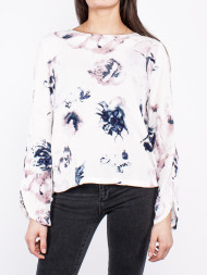 minimum / Magna floral blouse white