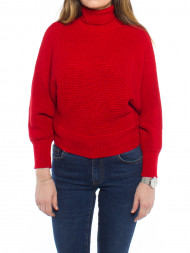 NA-KD / Folded knitted sweater red