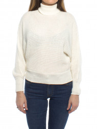 NA-KD / Folded knitted sweater off white