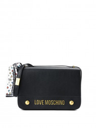 LOVE MOSCHINO / Nappa grain shoulderbag black