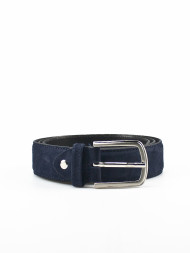 REVOLUTION / Fara suede belt navy