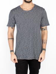 ARMEDANGELS / Dean fine stripe t-shirt navy