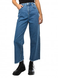 WHY7 / Nina jeans wide ancle mid blue