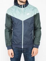 NIKE / Windrunner jacket navy mint