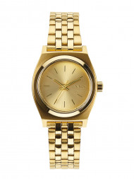 NIXON / Small time teller watch all gold