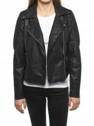 CALVIN KLEIN / Nmrebel leatherjacket black