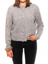 SAMSØE & SAMSØE / Nor short cardigan grey mel