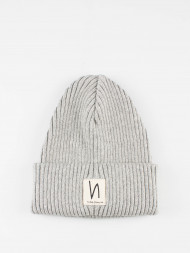 Nudie Jeans co / Nilsson beanie white moss