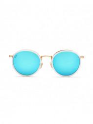 KAPTEN & SON / Amsterdam glasses pearl blue mirrored
