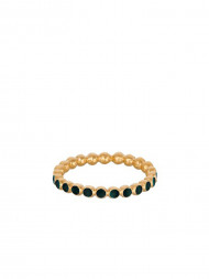 Pernille Corydon / Pixel ring r-606 forest green