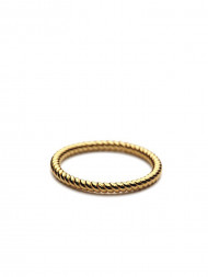 Pernille Corydon / Twisted ring r-110 gold